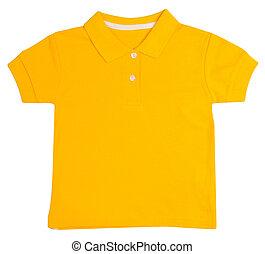 kid yellow t-shirt