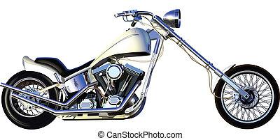 CHOPPER - motorbike