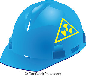 Sign of radiation safety