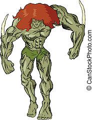 Monster Villain - Illustration of a monster