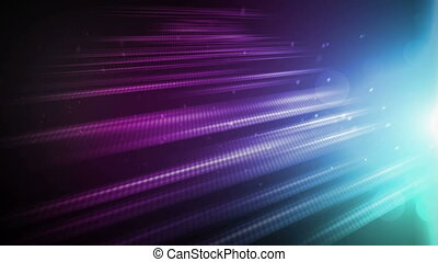Radiant Field Purple Blue - Beautiful radiant glow lines in...