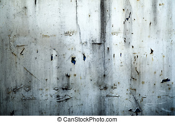 Grunge metal background - Grunge weathered metal background...