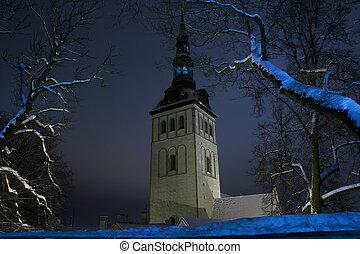 Tallin, Winter