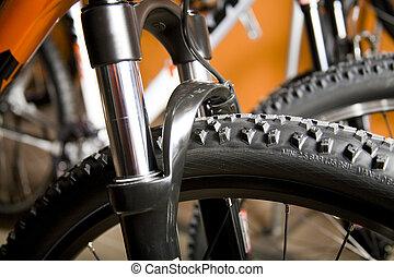 Mountain bike - Detail of a mountain bike
