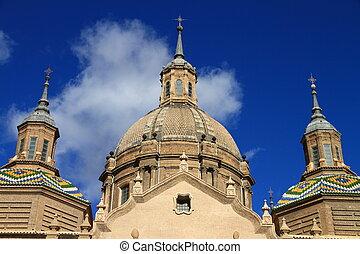 El Pilar - El Pilar Cathedral, Zaragoza, Spain