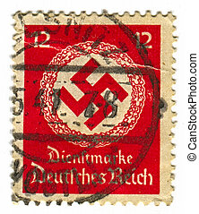 Postage stamp. - GERMANY - CIRCA 1941: A stamp printed in...