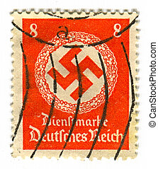 Postage stamp. - GERMANY - CIRCA 1937: A stamp printed in...