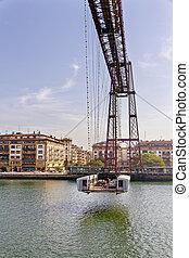 Birdge of Bizkaia, Spain - Birdge of Bizkaia, Portugalete,...