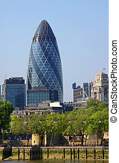 london gherkin - A photography of the huge london gherkin