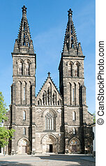 Vysehrad, Prague, Czech Republic - Facade of Capitular...