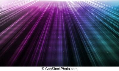 Radiant Light Purple Blue