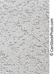 Light Grey Wall Stucco Texture, Detailed Natural Gray Coarse...