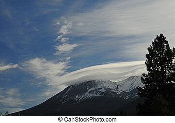 Early Morning Lenticular  - Active skies for sunrise