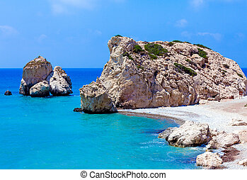 rocas, Afrodita, Paphos, Chipre