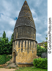 sarlat dordogne perigord France - Lanterne des morts in the...