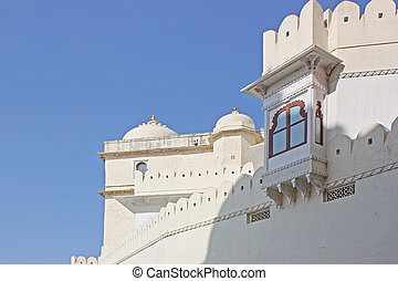 Udaipur city palace taken in Rajasran, India