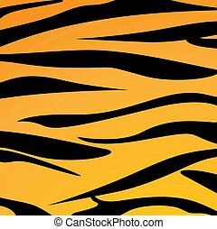 Animal skin - Vector illustration of animal skin