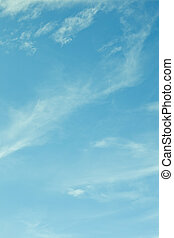 background sky light blue , pale ultramarine