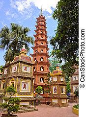 quoc, pagode,  Tran