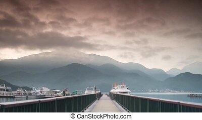 Time lapse of sun_moon lake - Time lapse of sun_moon, TAIWAN