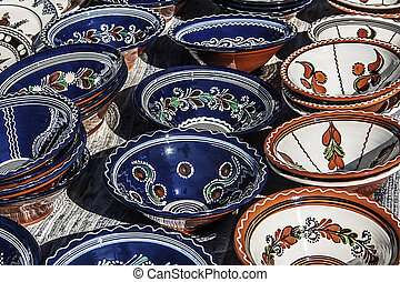 Traditional Romanian Ceramics 2 - Romanian traditional...