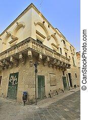 Scorcio del borgo - Lecce - Un caratteristico scorcio del...