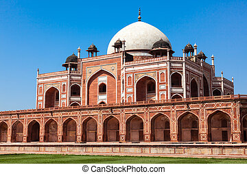Humayun's Tomb. Delhi, India. UNESCO World Heritage Site