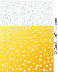 beer texture - Dewy beer texture background. Vector...