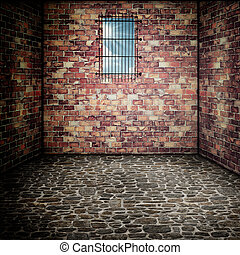 Prison. Abstract architectural backgrounds for your design