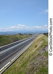 Expressway - Shin Tomei Expressway A new Expressway in Japan...
