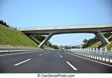 Expressway - Shin Tomei Expressway. A new Expressway in...