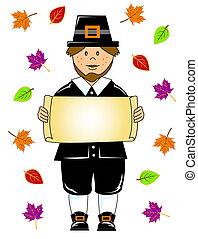 thanksgiving pilgrim boy