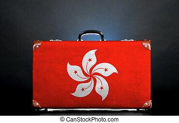 The Hong Kong flag