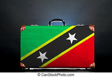 The Saint Kitts and Nevis flag