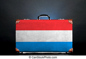 The Luxembourg flag