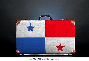 el, Panamá, bandera
