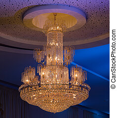 Christal Chandelier - Shimmery Christal Chandelier Hanging...