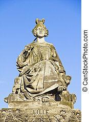 Statue of Lille, Place de la Concorde, Paris