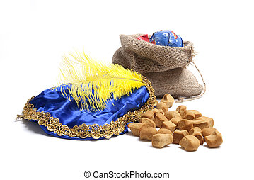 Sinterklaas presents and sweets - Typical Dutch celebration:...