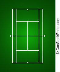 Tennis Green Court