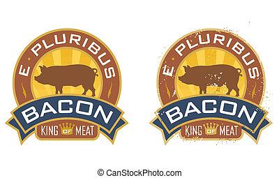 Bacon Symbol - Bacon symbol featuring the words, %u201CE...