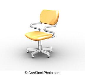 Armchair - The image of a unusual, modern, creative armchair