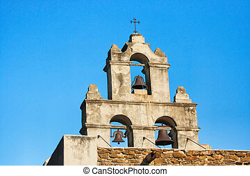 San Antonio Mission - On of the several historic missions of...