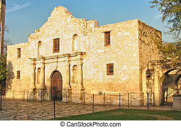 The Alamo located in San Antonio, Texas was the location of...