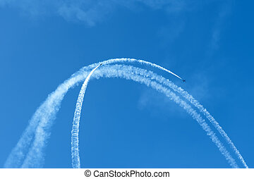 Aerobatics - Performing aerobatics in jet aircraft in the...