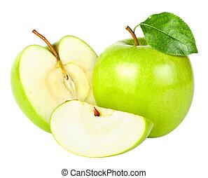 緑, りんご