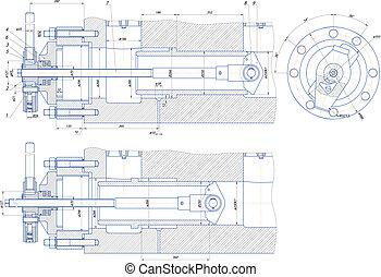 puller - Sketch puller EPS 10