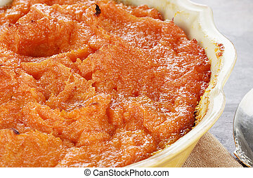 Sweet Potato Casserole - Sweet potato casserole. Extreme...