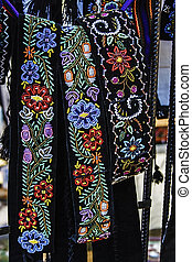 Romanian belts, wide and embroidered - Wide belts men, and...