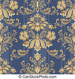 seamless pattern 1309 - Classical style pattern seamless...